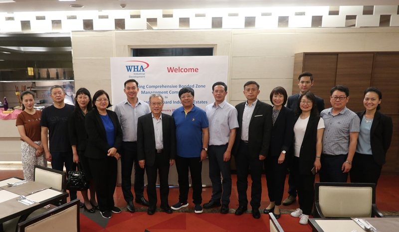 WHA Group Welcomes Kunming Delegation to Automotive Cluster