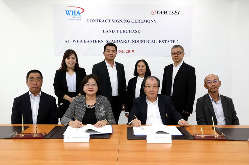 Yamasei Thai Inks WHA Eastern Seaboard  Industrial Estate 2 Land Purchase Deal