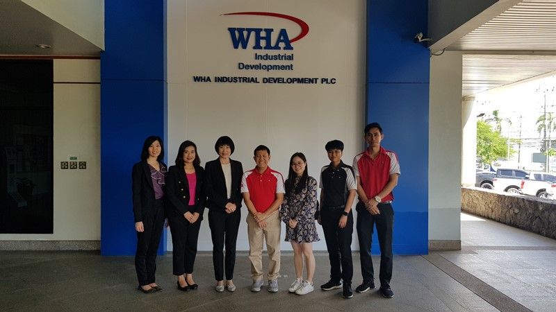 CIMB Business Researchers Visit WHA Eastern Seaboard Industrial Estate 1 and  Eastern Seaboard Industrial Estate (Rayong) (ESIE)