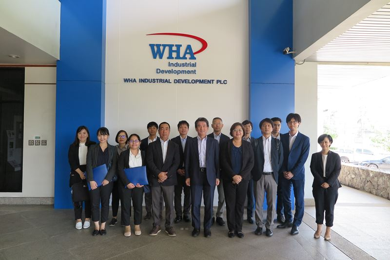 Delegates from JETRO Visit WHA Industrial Estates