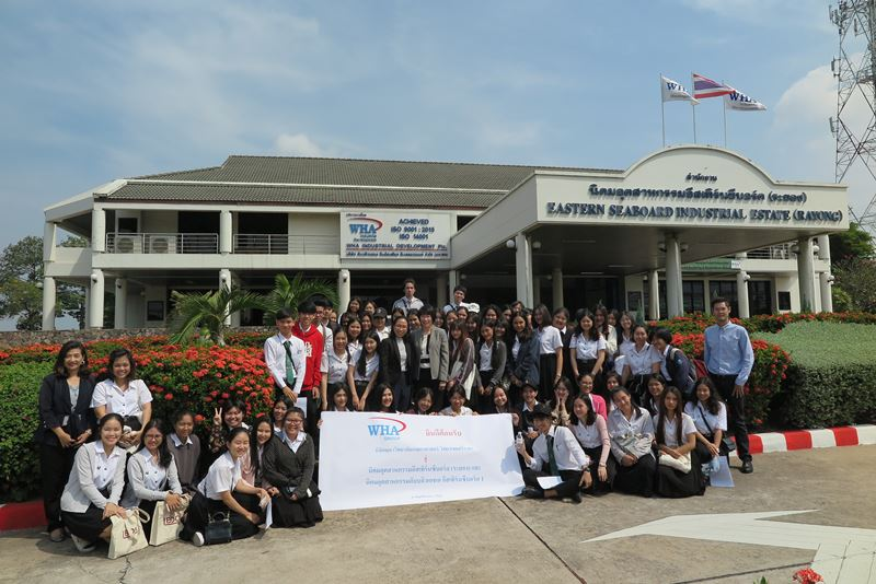 WHA Group Welcomes Kasetsart University Students to WHA Eastern Seaboard Industrial Estate, the Automotive Cluster of Thailand