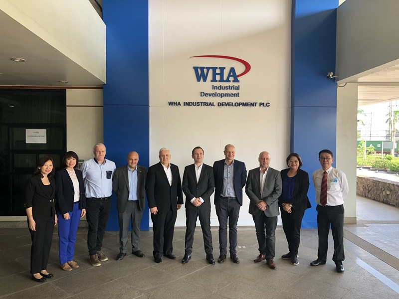 Danish Ambassador Visits WHA Industrial Estate in the EEC
