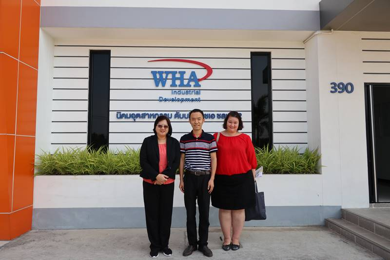 Guangdong University Visits WHA CIE 2 and WHA ESIE 2