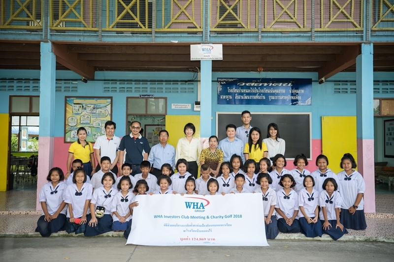 WHA Group Provides Safer, Cleaner Classrooms to Ban Nong Rai School in Rayong