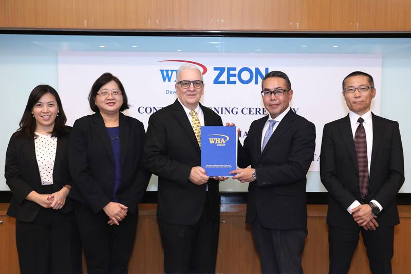 Zeon Chemicals Asia Land Purchase Deal with WHA Industrial