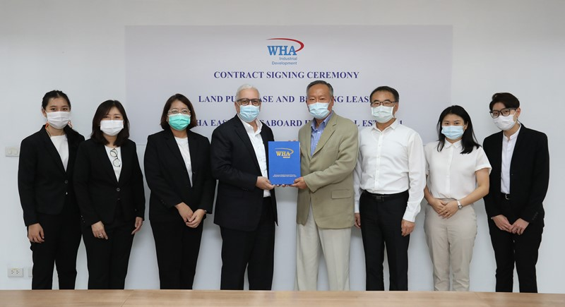 Thai Ming Lighting Signs Double Deal with WHA Industrial Development for New Production Base in Rayong